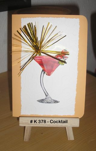 Karte Cocktail
