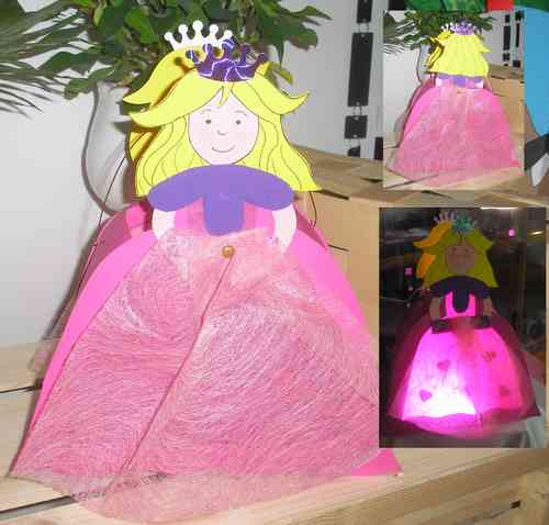 Laterne Prinzessin