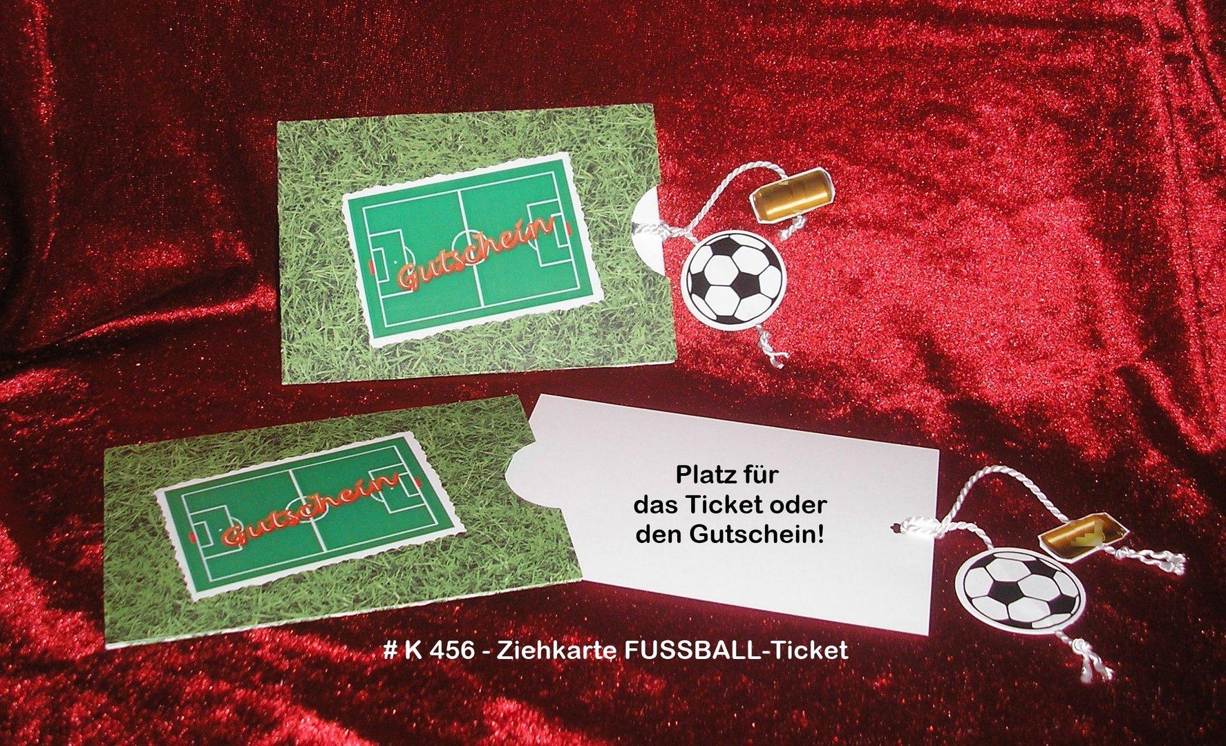 gutschein fussball ticket